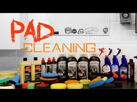 how to clean polishing pads - buffing pad cleaning tips