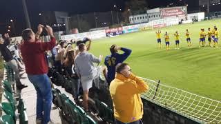 Bohemka - Zlín 0:1 podzim 2018 děkovačka, featuring Cajcyk