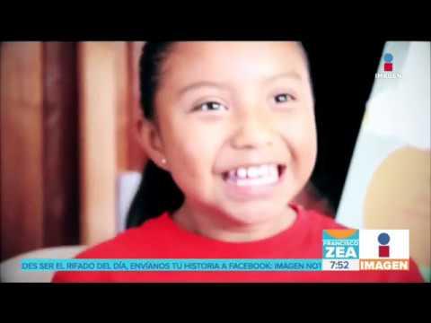 Niña mexicana gana un premio de ciencia nuclear por crear un calentador solar de agua