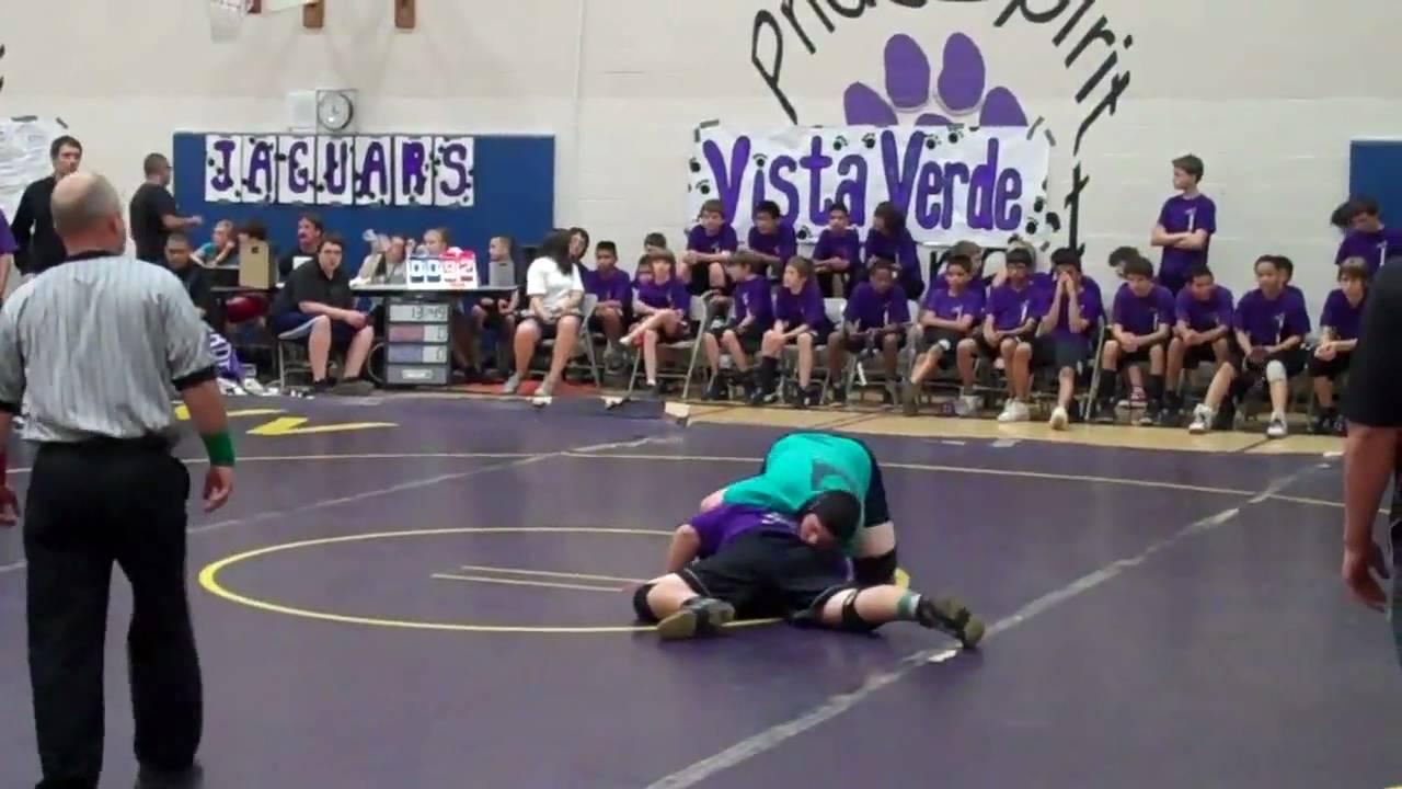 Mike Kiel Jr Match 1 5 10 10 Vs Vista Verde Middle School Youtube