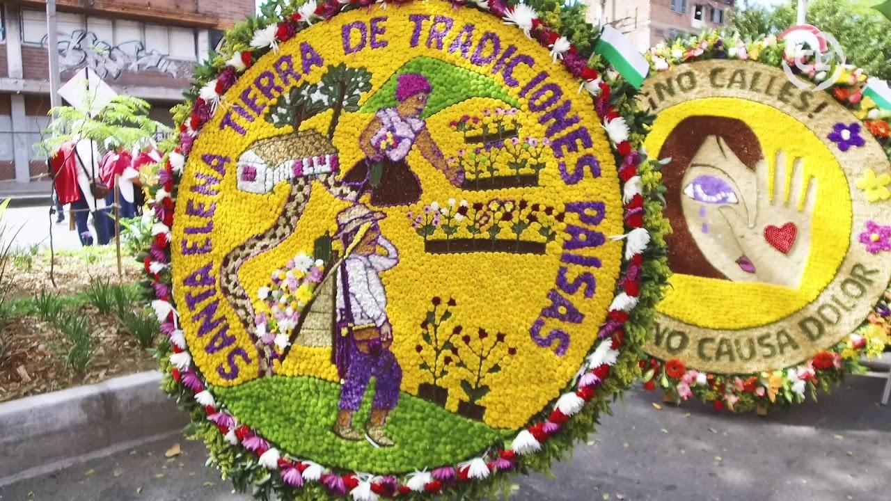 443e14284 Desfile de Silleteros Feria de las Flores 2018 ll Cámara Lúcida ...
