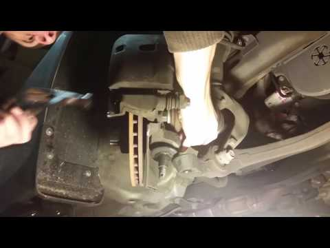 How to Replace Front CV Axles – Honda Accord