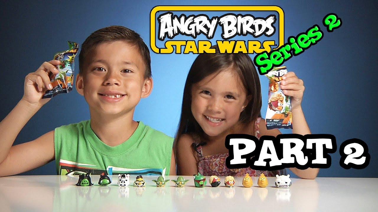 Opening Angry Birds Star Wars Series 2 Blind Bags Part 2