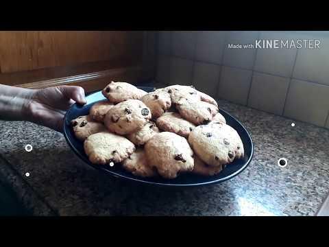 cookies-aux-pépites-de-chocolat-et-raisins-secs-/-كوكيز-برقائق-الشوكولاتة-والزبيب