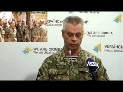 Andriy Lysenko. Ukraine Crisis Media Center, 12th of June 2015
