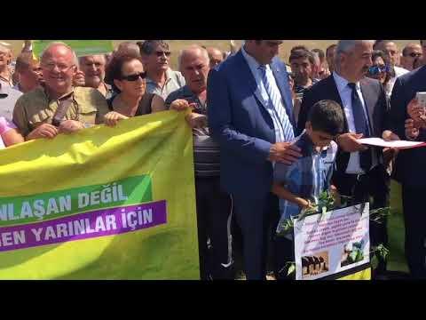 Marmara Üniversitesi arazisi toki eliyle peşkeş çekiliyor, Küçükçekmeceliler itiraz ediyor.