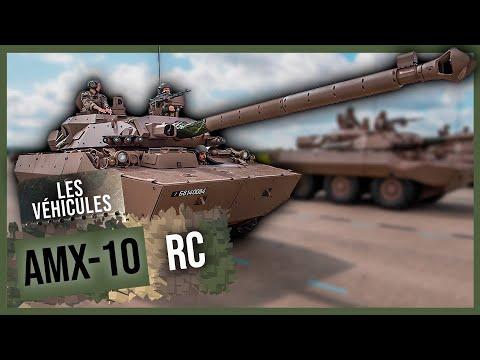 Moteur - le char AMX 10 RC