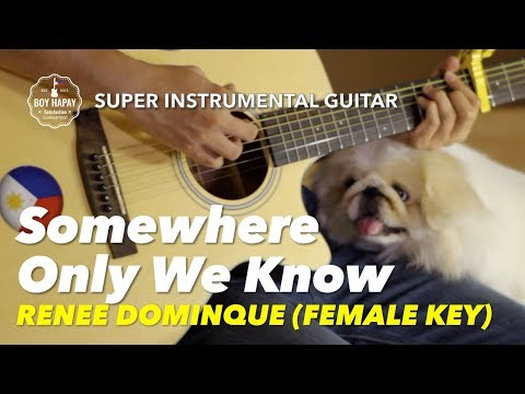 somewhere-only-we-know-female-key-renee-dominque-keane-instrumental-guitar-karaoke-version-with-lyri