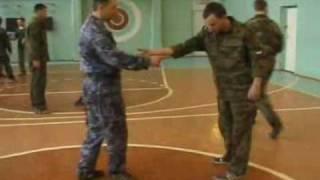 Выбивание и забирание ножа Ульяновск Семинар 2007 Фрагмент  Обучение