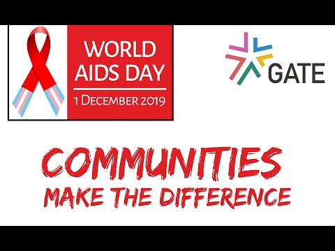 World AIDS Day 2019 - Communities Make The Difference