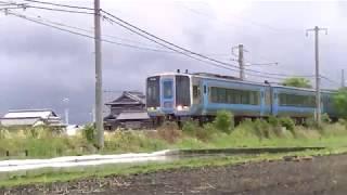 JR四国 2000系気動車 特急南風14号 岡山ゆき