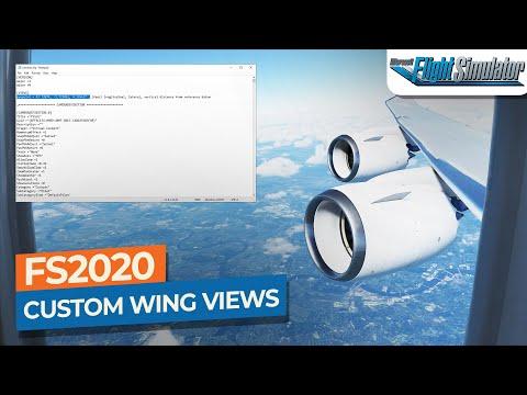 [MSFS] Creating CUSTOM WING VIEWS in Microsoft Flight Simulator|Drawyah