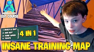 TSM Wintrrz *FIRST TIME* Playing Fortnite WORLD CUP EDIT COURSE ( Fortnite Best Edit Course )
