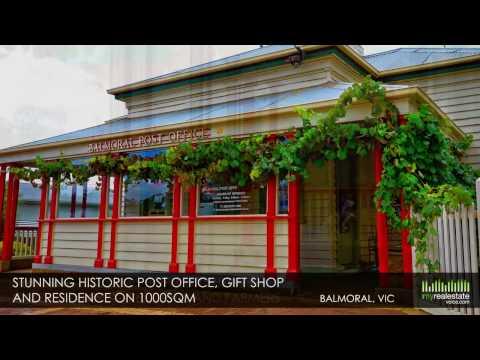 Balmoral Post Office plus Refurbished Residence - Balmoral, VIC