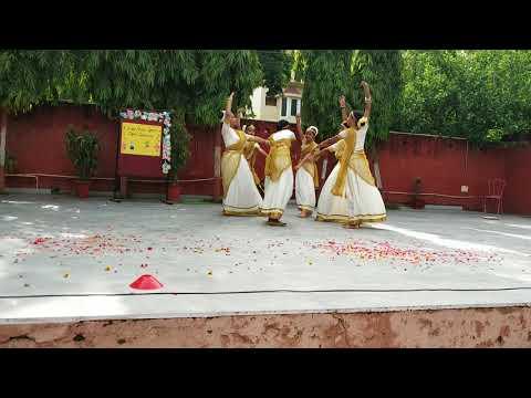 Malayalam folk dance performance