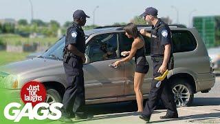Police Forget Her Keys
