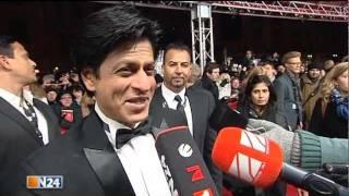 Shah Rukh Khan in Berlin für die Dreharbeiten zu Don 2