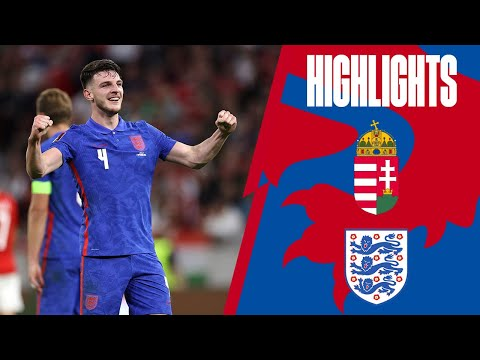 Hungary 0-4 England | Three Lions Clinical In Budapest | World Cup 2022 Qualifiers | Highlights