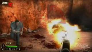 The Grinder Nintendo Wii Gameplay - Sheriff Rescue Attempt
