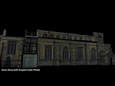 St Peters Church Lidar Scan