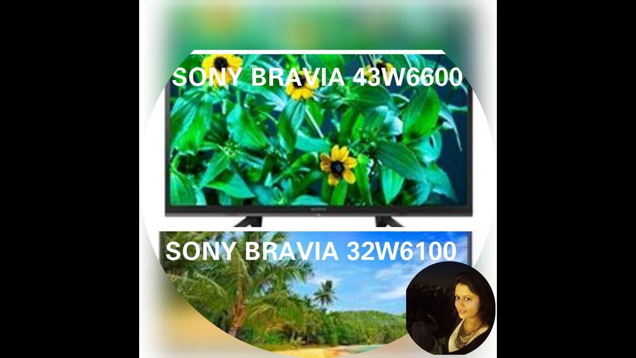 New Sony Bravia Best Budget 43 inch Full HD  43W6600 ⚡ Sony 32 inch Smart TV 32W6100