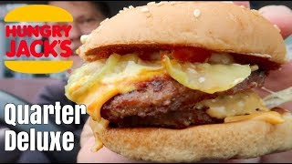 New Hungry Jacks Quarter Deluxe
