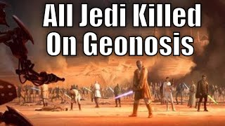 All Jedi Killed in the Battle of Geonosis