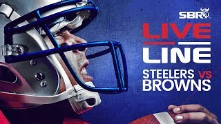 Steelers vs Browns   LIVE Thursday Night Football NFL Betting