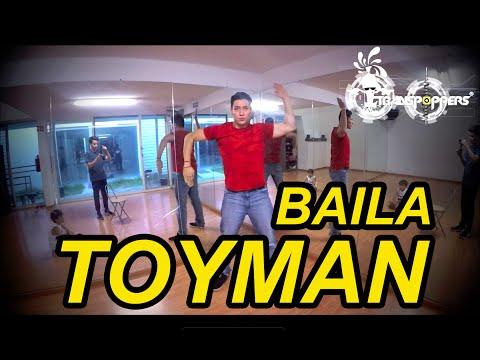 """""""TOYMAN"""" Tutorial Aprende y Baila con Robotina TRANSPOPPERS"""