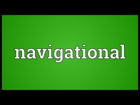 Navigational Meaning