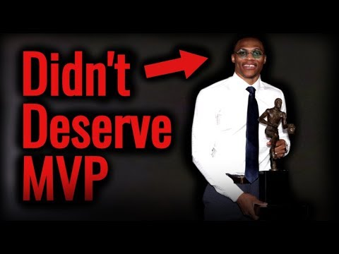 Why Russell Westbrook SHOULDN'T HAVE WON The 2017 MVP!