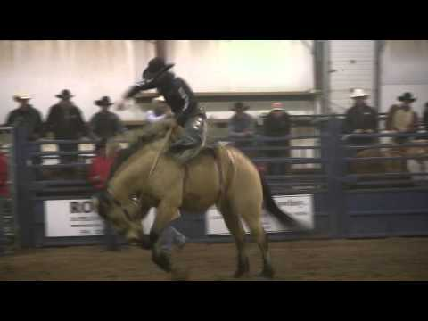 Rylan Geiger 84.5 on Outlawbuckers' Buckwheat