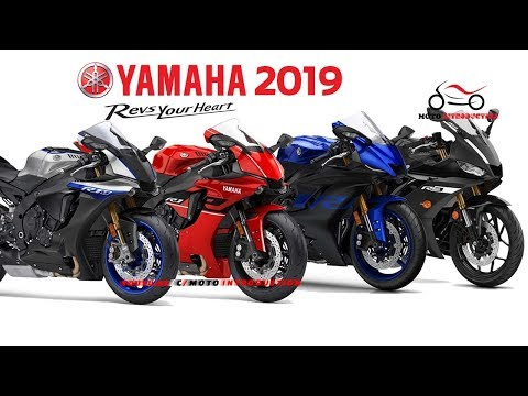 All New Yamaha R Series Model 2019 | New Yamaha Supersport Motorcycles 2019