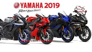 All New Yamaha R Series Model 2019 | New Yamaha Supersport Motorcycles 2019