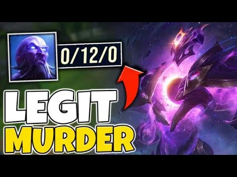 I MADE THIS RYZE GO 0/12 IN A LEGIT RANKED GAME! HE WAS BEYOND TILTED - League Of Legends