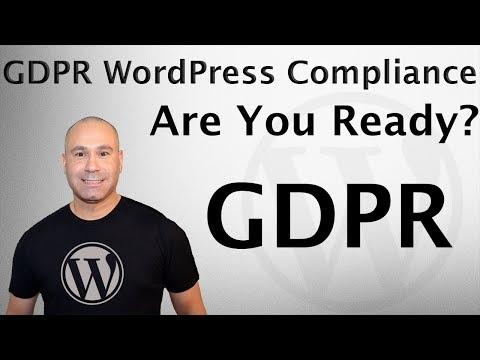GDPR Compliance for WordPress Websites & Blogs - General Data Protection Regulation