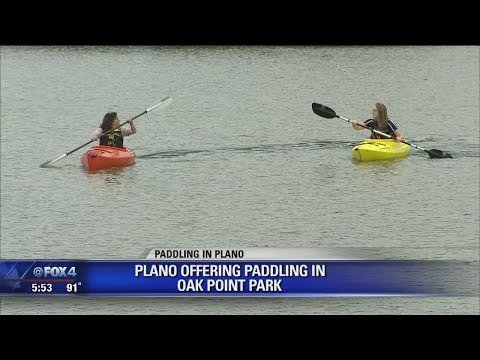 Kayaks Allowed At Plano's Oak Point Park