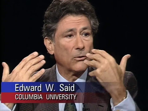 Edward Said interview on Charlie Rose (1994)
