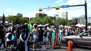 Lilac Festival - The main junction