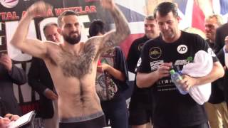 WAR SMIGGA! - TYRON ZEUGE v PAUL SMITH - OFFICIAL WEIGH IN & HEAD TO HEAD / ZEUGE v SMITH