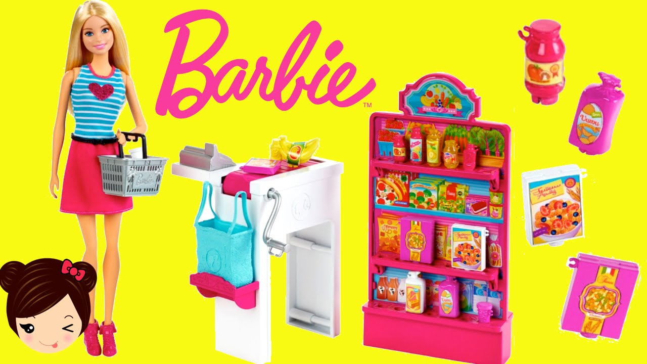 El Supermercado De Barbie Mini Episodio Con Munecas Los Juguetes