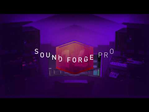 Sound Forge Pro 14 intro