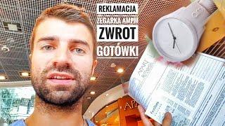 Reklamacja Zegarka AMPM z APART Bytom - zwrot gotówki