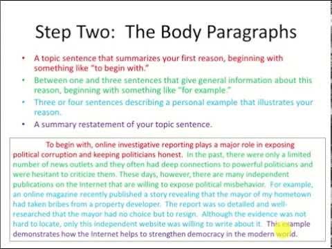 TOEFL Writing Templates (Independent Essay)