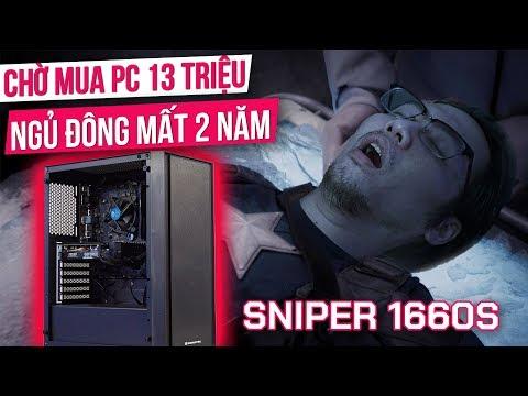 """Đại Gia """"BÁN ĐẤT"""" Mua PC 13 Triệu! Nhưng NGỦ ĐÔNG Mất 2 Năm Mới Ưng Ý! - TNC Gaming PC Sniper 1660S"""