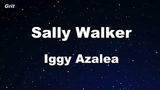 Baixar Sally Walker - Iggy Azalea Karaoke 【No Guide Melody】 Instrumental
