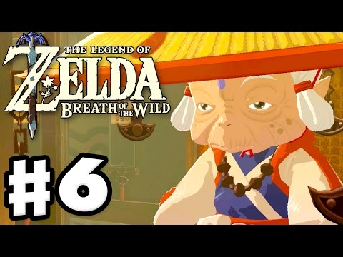 Impa at Kakariko Village! - The Legend of Zelda: Breath of the Wild - Gameplay Part 6
