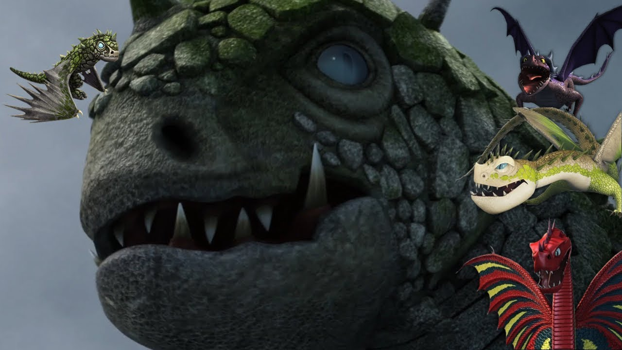 new dragons from how to train your dragon
