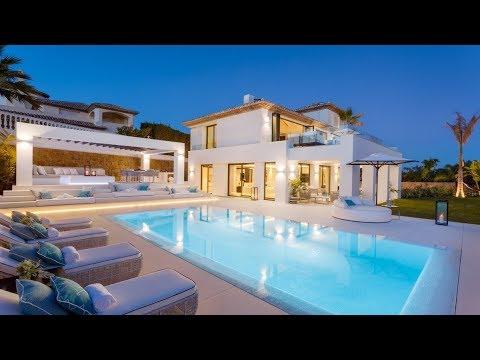 New Contemporary Villa in Nueva Andalucia, Spain
