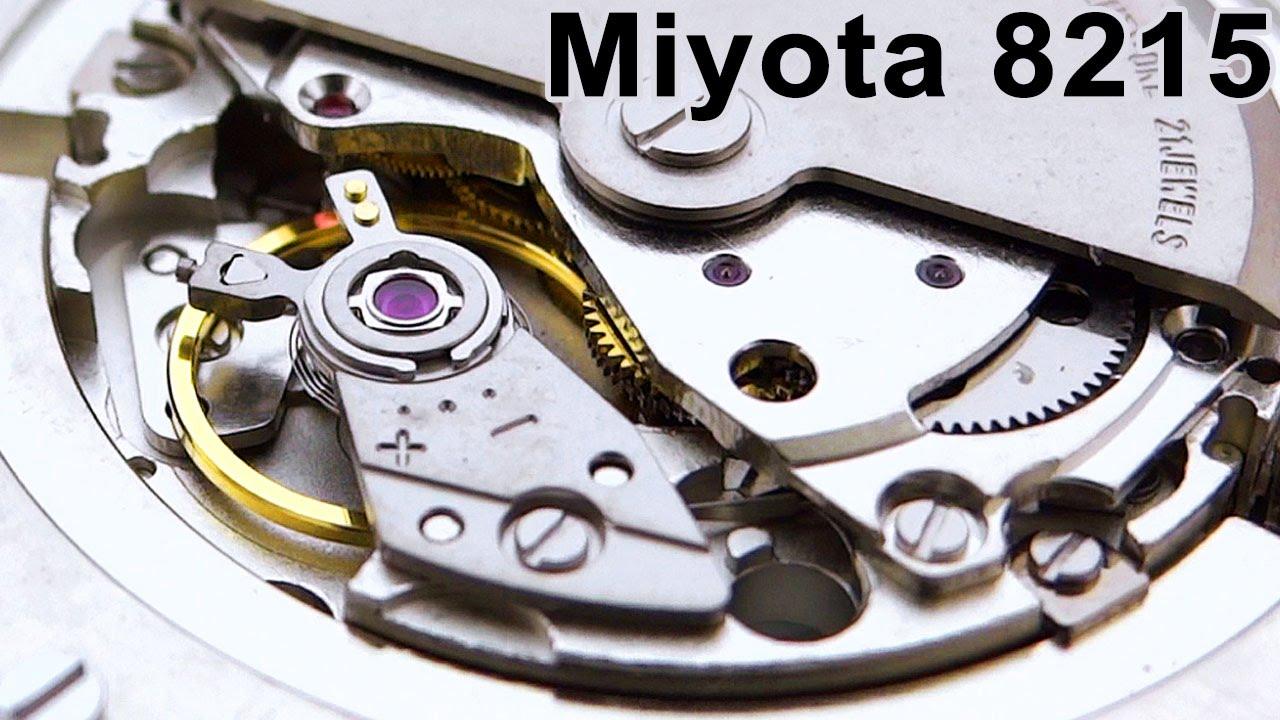 Miyota Caliber 8215 Automatic  Movement Monday